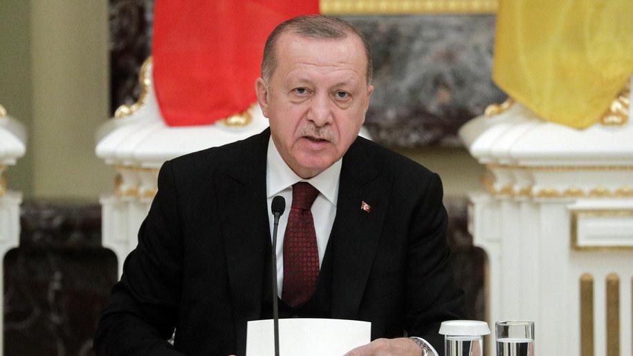 Recep Tayyip Erdogan /SERGEY DOLZHENKO /PAP/EPA