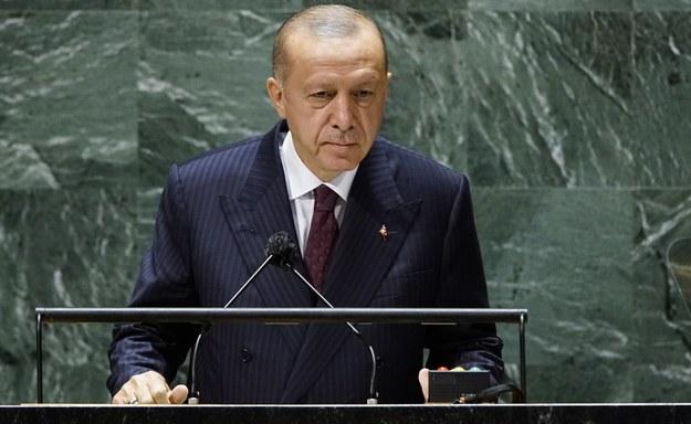 Recep Tayyip Erdogan /EDUARDO MUNOZ/POOL /PAP/EPA