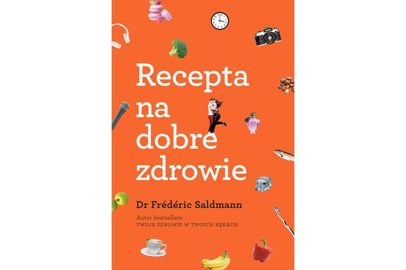 ",,Recepta na dobre zdrowie"", doktor Frédéric Saldmann /materiały prasowe"