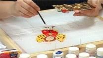 Ręcznie malowana jedwabna chusta - tutorial