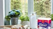 Ręcznik papierowy Velvet Czysta Biel Najdłuższy pomaga w gotowaniu młodym kucharzom