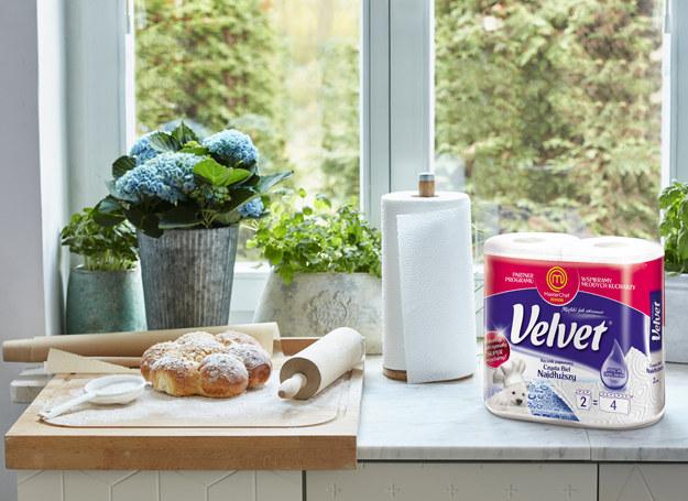 Ręcznik papierowy Velvet z pewnością przyda się w domu /materiały prasowe