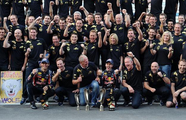 Red Bull powtórzył ubiegłoroczny sukces /AFP