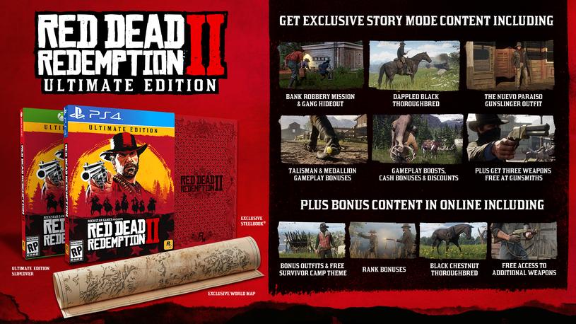 Red Dead Redemption 2 - edycja Ultimate /materiały prasowe