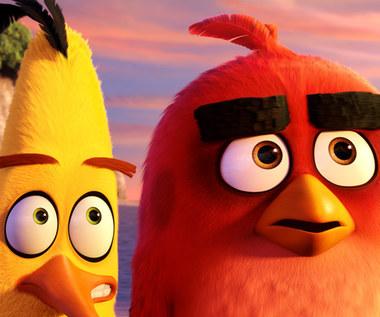 RED, przywódca Angry Birds, w Warszawie. Jest ambasadorem Międzynarodowego Dnia Szczęścia