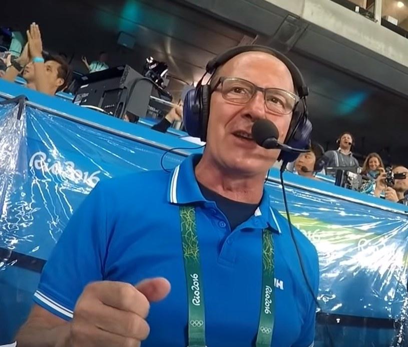 Red. Włodzimierz Szaranowicz tak komentował zwycięstwo Usaina Bolta w finale 100 m, podczas IO w Rio de Janeiro. /INTERIA.PL