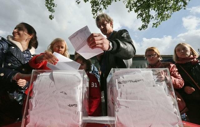 Referendum na Ukrainie /Sergei Ilnitsky /PAP/EPA