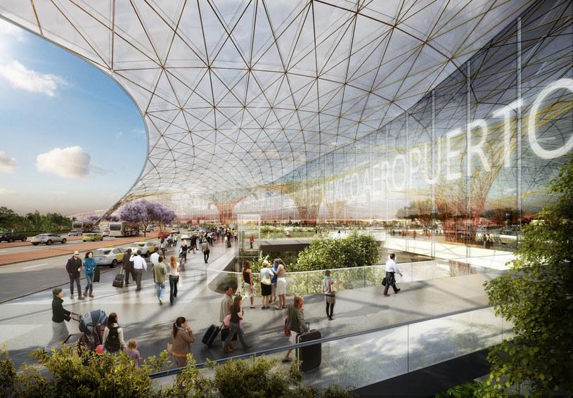 Referendum rozstrzygnie losy lotniska /Fot. Foster + Partners /materiały prasowe