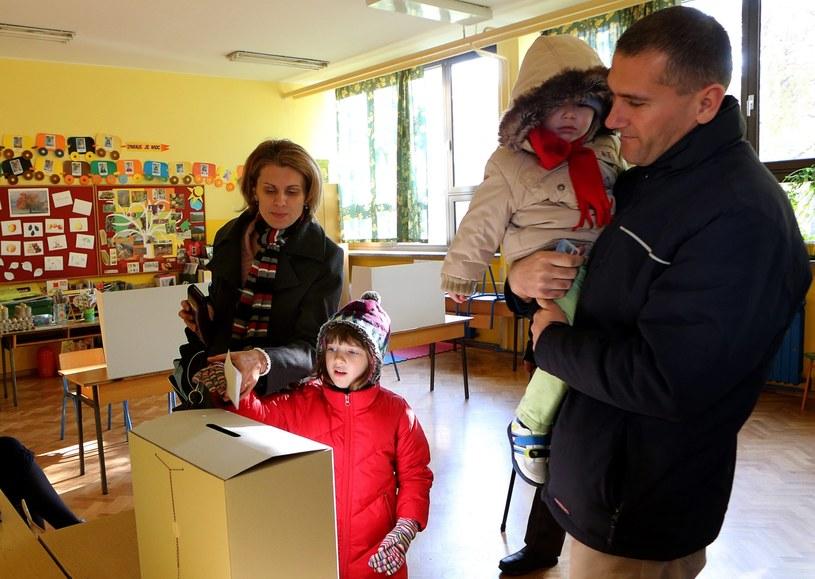 Referendum w Chorwacji /PAP/EPA