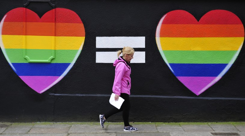 """Referendum w Irlandii: """"Tak"""" dla małżeństw jednopłciowych /AIDAN CRAWLEY  /PAP/EPA"""