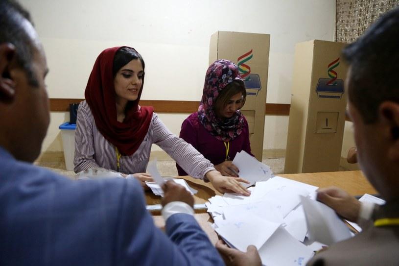 Referendum w Kurdystanie /GAILAN HAJI /PAP/EPA