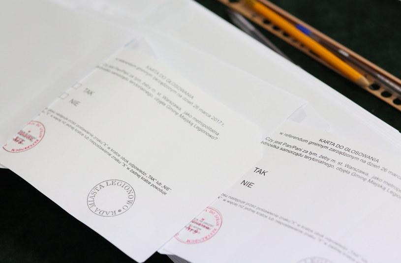 Referendum w Legionowie /Leszek Szymański /PAP