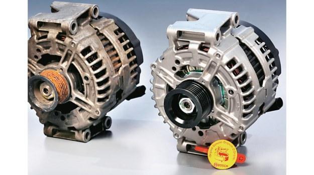 Regeneracja jest warta rozważenia, jeżeli jej koszt wynosi do 50% ceny części nowej. /Motor