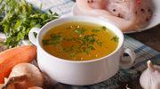 Regeneracja na talerzu - zupa, czosnek i ciasto