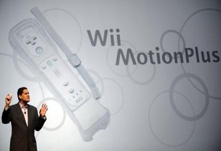 Reggie Fils-Aime, szef Nintendo Ameryka prezentuje nowy gadżet. /AFP