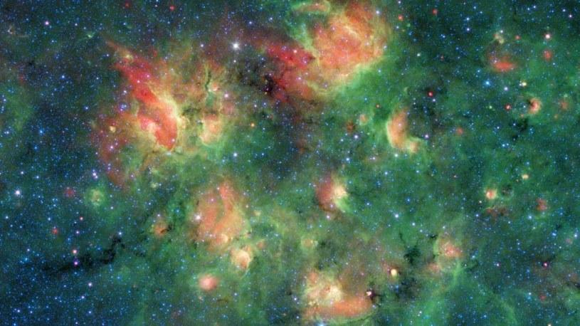 Region gwiazdotwórczy w gwiazdozbiorze Orła /materiały prasowe