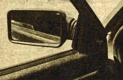 Regulacja ustawienia lusterka z miejsca kierowcy jest jednym z elementów wyposażenia ułatwiających eksploatację samochodu. /Motor