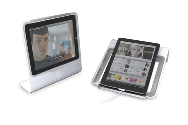 Regulowany aluminiowy stojak na tablet - ViewStand /materiały prasowe