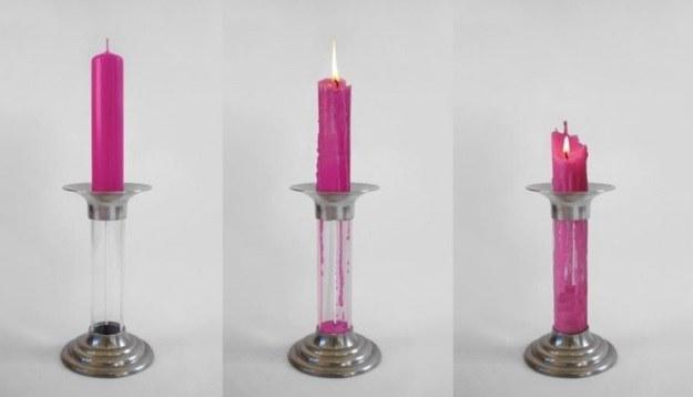 Rekindle - pierwsza na świecie regenerująca się świeczka /materiały prasowe
