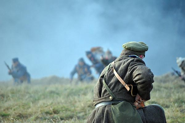 Bitwa na wzgórzu Jabłoniec pod Limanową - rekonstrukcja