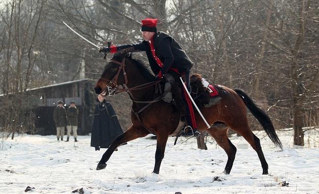 Rekonstrukcja bitwy pod Olszynką Grochowską, fot. Jacek Waszkiewicz /Reporter