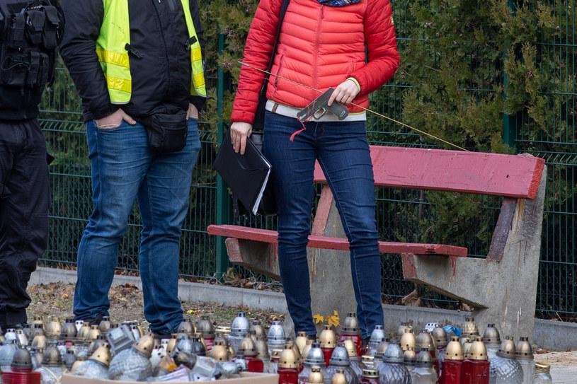 Rekonstrukcja wydarzeń po śmiertelnym postrzeleniu 21-latka w Koninie /PAWEL JASKOLKA/AGENCJA S /East News
