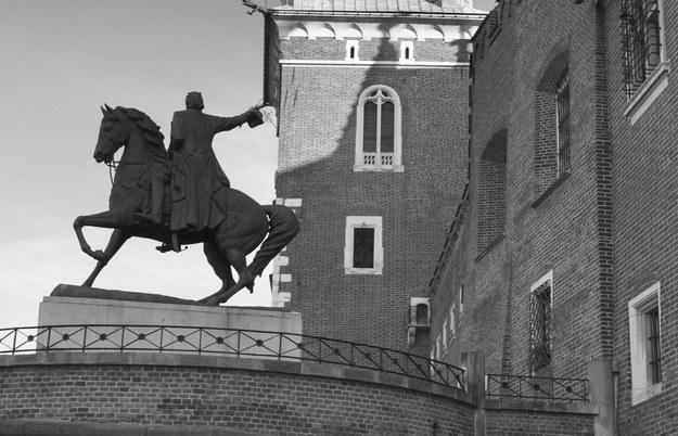 Rekonstrukcję pomnika wykonał drezdeński rzeźbiarz Rudolf Lohner /Jan Włodarczyk  /Agencja FORUM
