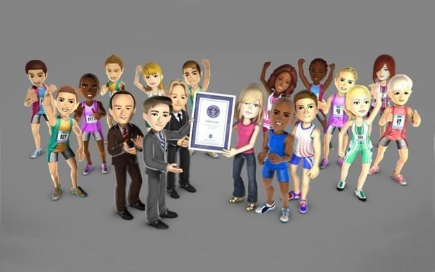 Rekord Guinnessa w Kinect Sports - motyw graficzny /CDA