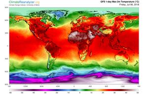 Rekordowa fala upałów na świecie. Gorąco nawet na Syberii