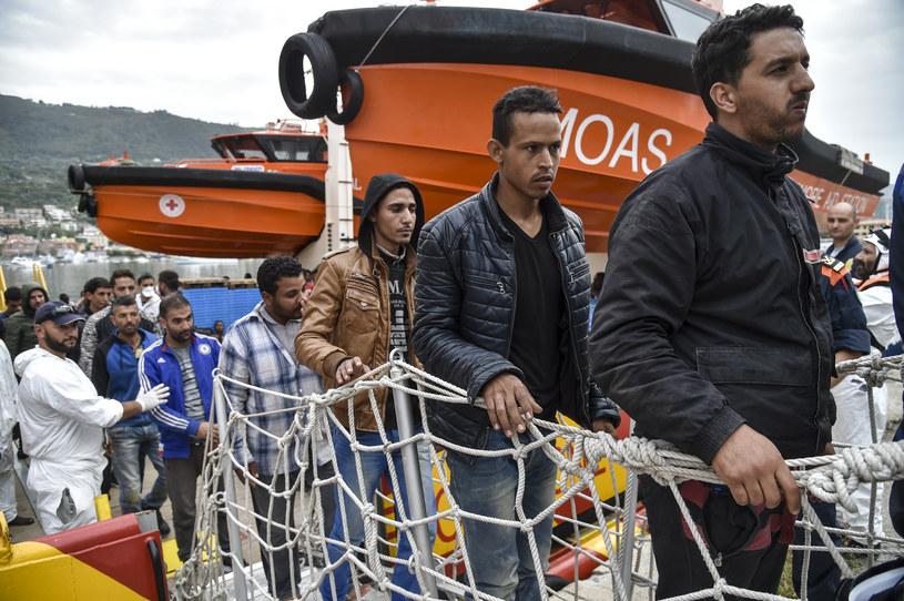 Rekordowa liczba migrantów uratowana na Morzu Śródziemnym /ANDREAS SOLARO /AFP
