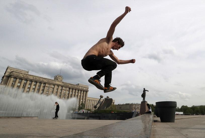 Rekordowe temperatury w Rosji /ANATOLY MALTSEV  /PAP/EPA
