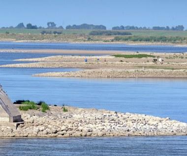 Rekordowo niski poziom wody w Wiśle