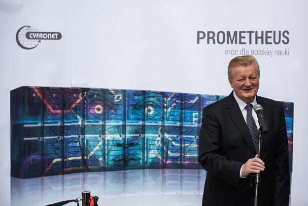 Rektor AGH Tadeusz Slomka. Fot. Jan Graczyński /East News