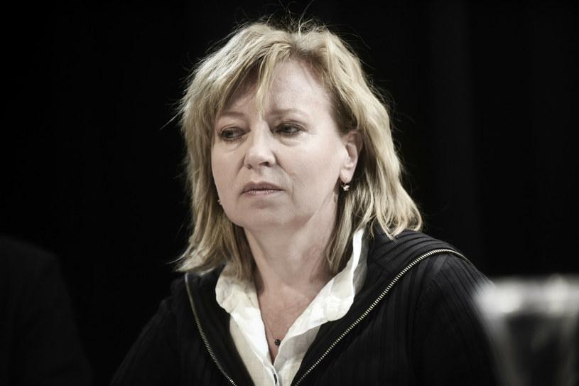 Rektor Akademii Sztuk Teatralnych w Krakowie, Dorota Segda, poprosiła studentów o zaufanie /Marek Lasyk  /Reporter