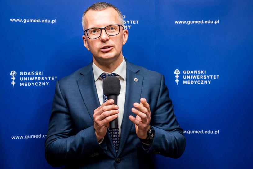 Rektor GUMed prof. Marcin Gruchała /Marcin Bruniecki /East News