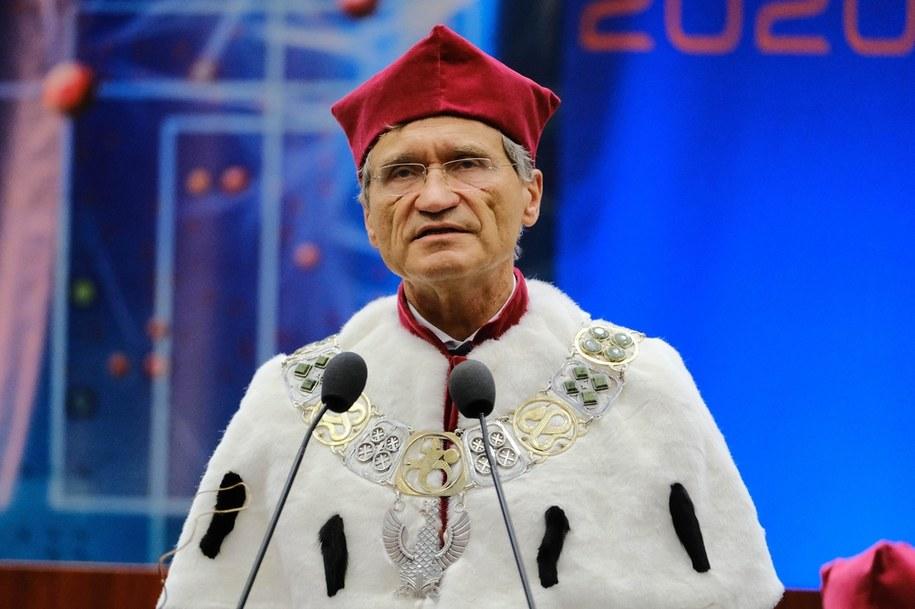 Rektor WUM prof. Zbigniew Gaciong /Mateusz Marek /PAP