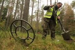 Rekultywacja terenów przyrodniczych- czyli rozminowywanie lasu w Spychowie