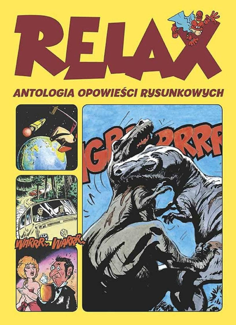 Relax - Antologia opowieści rysunkowych /materiały prasowe
