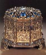 Relikwiarz na głowę biskupa św. Stanisława, 1504 /Encyklopedia Internautica