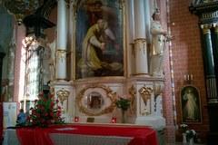Relikwie patrona zakochanych w Chełmnie