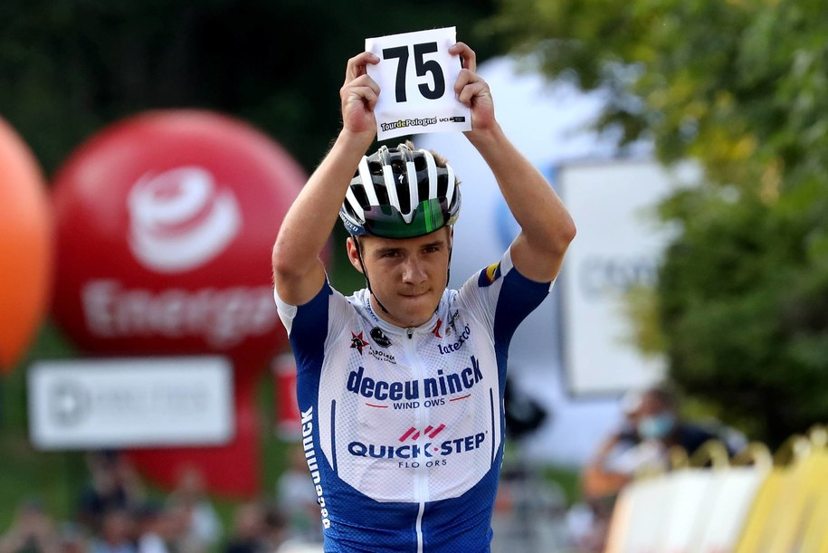 Remco Evenepoel przed tygodniem wygrał Tour de Pologne / Grzegorz Momot    /PAP