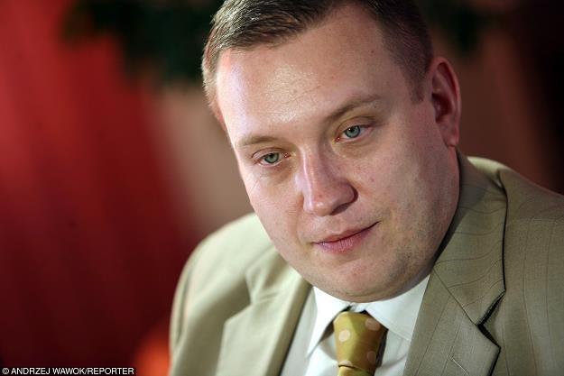 Remigiusz Nowakowski, prezes Tauronu. Fot. Andrzej Wawok /Reporter