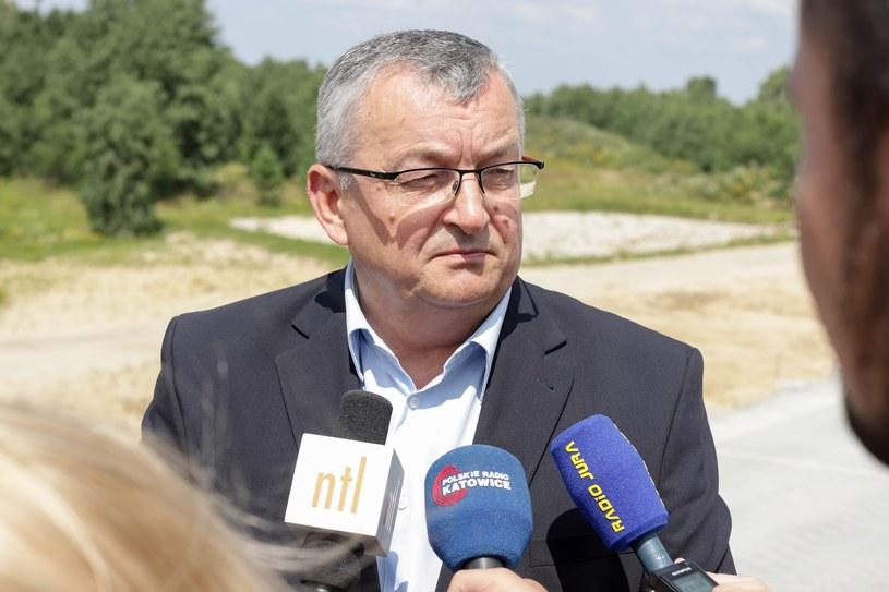 Remont drogi zapowiedział minister Adamczyk /Tomasz Kudala /Reporter