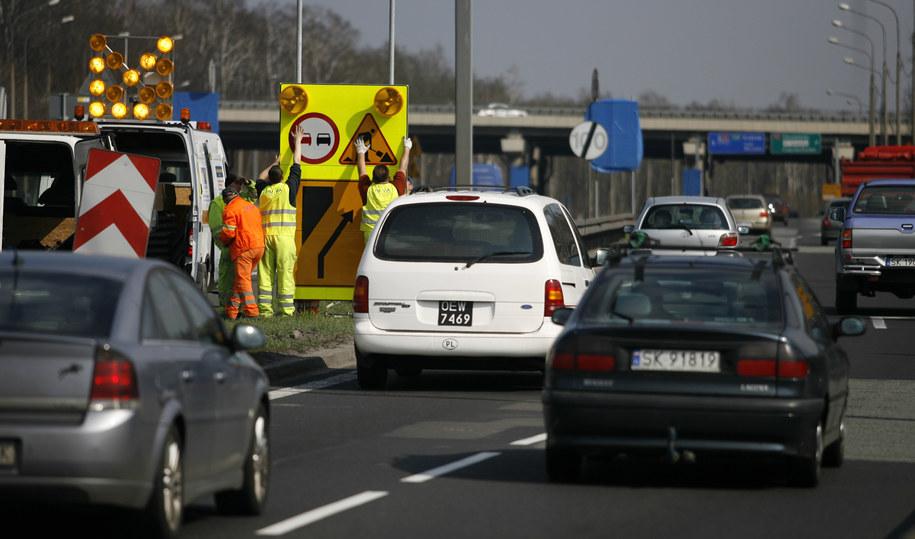 Remont na A4 ma potrwać do końca sierpnia / Andrzej Grygiel    /PAP