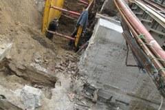 Remont tunelu pod torami na sopockim Monciaku