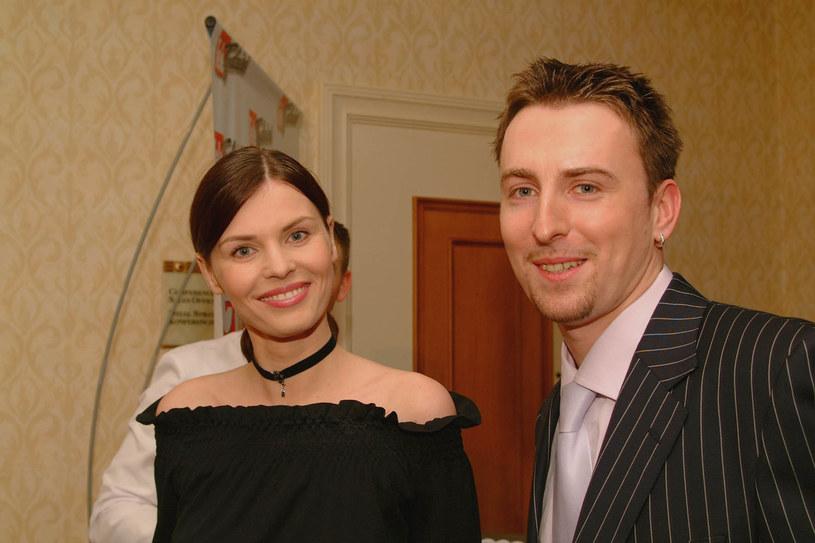 Renata Gabryjelska z byłym partnerem, Stanisławem Trzcińskim /Niemiec /AKPA