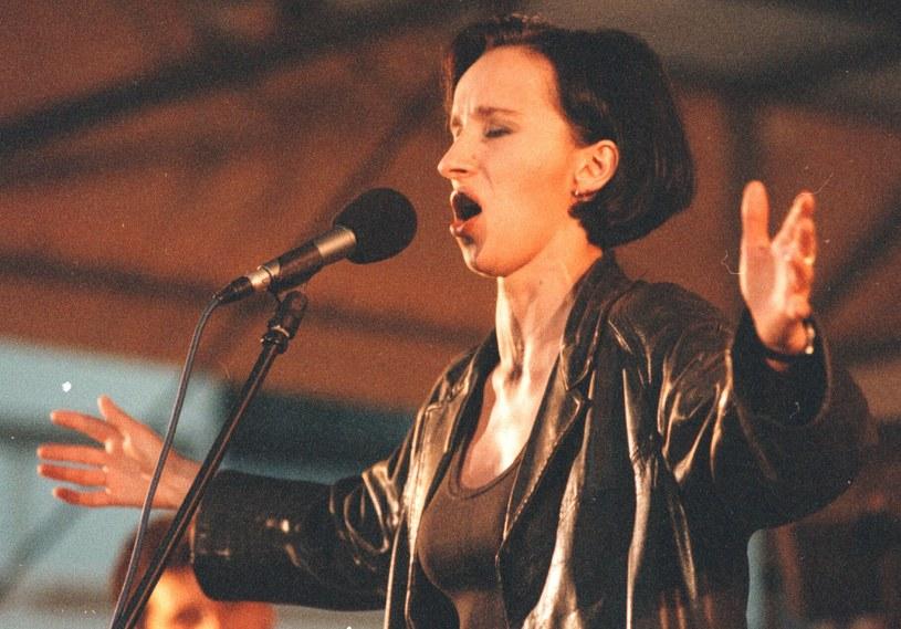 Renata Przemyk w 1997 r. /fot. Przemysław Graf /