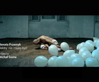 Renata Przemyk z balonami