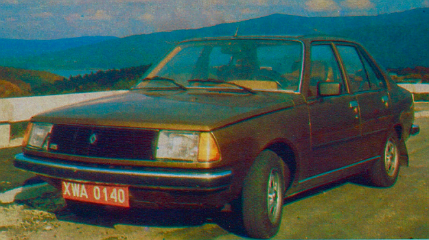 Renault 18 GTS /Motor