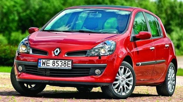 Renault Clio III skutecznie walczy ze stereotypami o francuskich autach. /Motor